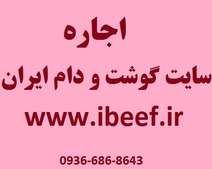اجاره سایت گوشت و دام ایران